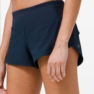 Lulu Speed Shorts - Navy